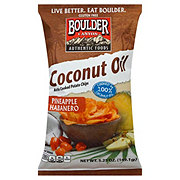 Boulder Canyon Kettle Cooked Pineapple Habanero Chips