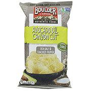 Boulder Canyon Kettle Cooked Sea Salt Cracked Pepper Chips