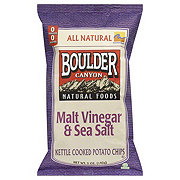 Boulder Canyon Malt Vinegar & Sea Salt Potato Chips