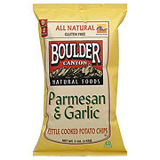 Boulder Canyon Parmesan Garlic Kettle Cooked Potato Chips