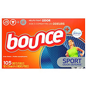 Bounce Pure Sport for Men Fabric Softener Dryer Sheets