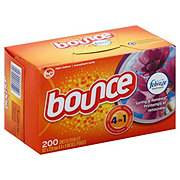 Bounce Spring And Renewal Fabric Softener Dryer Sheets