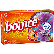 Bounce Spring and Renewal With Febreze Fresh Fabric Softener Dryer Sheets