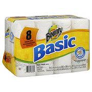 Bounty Basic Print Paper Towels