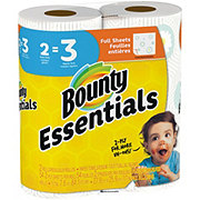 Bounty Essentials Full Sheet Print Giant Roll Paper Towels