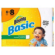 Bounty Full Sheet Basic Paper Towels