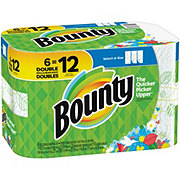 Bounty Select-A-Size Double Rolls Printed Paper Towels