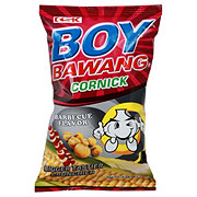 Boy Bawang BBQ Flavor Corn Snack