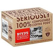 Boyd's Coffee Coffee Shop Single Serve Coffee Pods