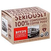 Boyd's Coffee Red Wagon Organic Single Serve Coffee Pods
