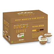 Boyer's Coffee Kona Blend Medium Roast Single Serve Coffee K Cups