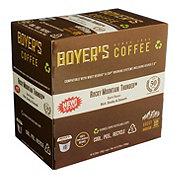 Boyer's Coffee Rocky Mountain Thunder Dark Roast Single Serve Coffee K Cups