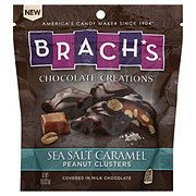 Brach's Chocolate Creations Sea Salt Caramel Peanut Clusters