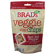 Brads Raw Foods Red Bell Pepper Chips