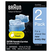Braun Clean & Charge Refills