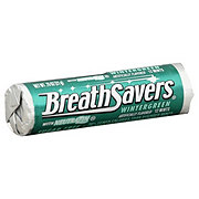 Breath Savers Savers Sugar Free Wintergreen Breath Mints Roll