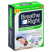 Breathe Right Extra Strength Clear Nasal Strips