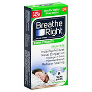 Breathe Right Extra Strength Clear Strips