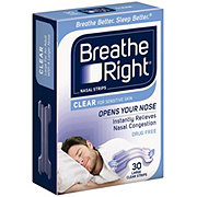 Breathe Right Large Clear Nasal Strips
