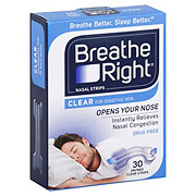 Breathe Right Small To Medium Clear Nasal Strips