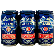 Breckenridge Avalanche Amber Style Ale  Beer 12 oz  Cans
