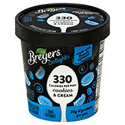 Breyer's Delights Cookies & Cream Ice Cream