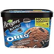 Breyers Blasts! Oreo Cookies and Cream Chocolate Frozen Dairy Dessert