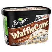 Breyers Blasts! Waffle Cone with Hershey's Semi-Sweet Chocolate Chips Frozen Dairy Dessert