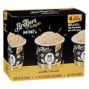 Breyers Delights Mini's Vanilla Cupcake Low Fat Ice Cream Cups