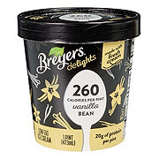 Breyers Delights Vanilla Bean Low Fat Ice Cream