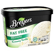 Breyers Fat Free Creamy Vanilla Ice Cream