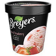 Breyers Natural Strawberry Ice Cream