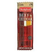 Bridgford Beef & Cheddar Sticks