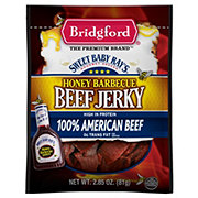 Bridgford Honey Barbecue Beef Jerky