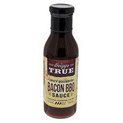 Briggs True Spicy Bourbon Bacon BBQ Sauce