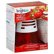 Bright Air Scented Oils Air Freshener Macintosh Apple & Cinnamon