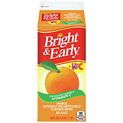 Bright & Early Orange Breakfast Beverage