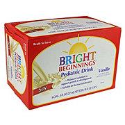 Bright Beginnings Pediatric Soy Nutritional Drink Vanilla