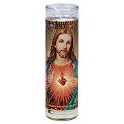 Brilux Sacred Heart Of Jesus Oro Religous Candle