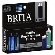 Brita Hard Sided Water Filter Bottle Replacement Filters