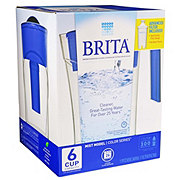 Brita Mist Pitcher Dark Blue