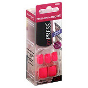 Broadway Nails imPress Short Length Ecstatic Cling  Press-On Manicure