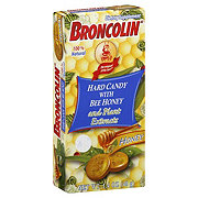 Broncolin Hard Candy with Bee Honey and Plant Extracts