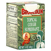 Broncolin Topical Cough Suppressant