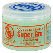 Bronner Bros Super Gro with Vitamin E Double Strength