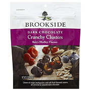 Brookside Dark Chocolate Crunchy Clusters Berry Medley
