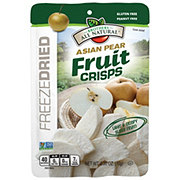 Brothers All Natural Asian Pear Freeze-Dried Fruit Crisps