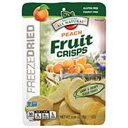 Brothers All Natural White & Yellow Peach Freeze-Dried Fruit Crisps