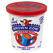 Brown Cow Cream Top Creamy Coffee Yogurt
