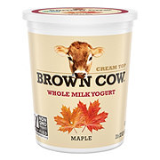 Brown Cow Cream Top Maple Yogurt
